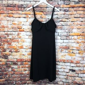 Tommy Bahama NWT Solid Black Cami Dress Cover Up